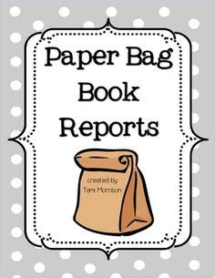 How to write a book report elementary students